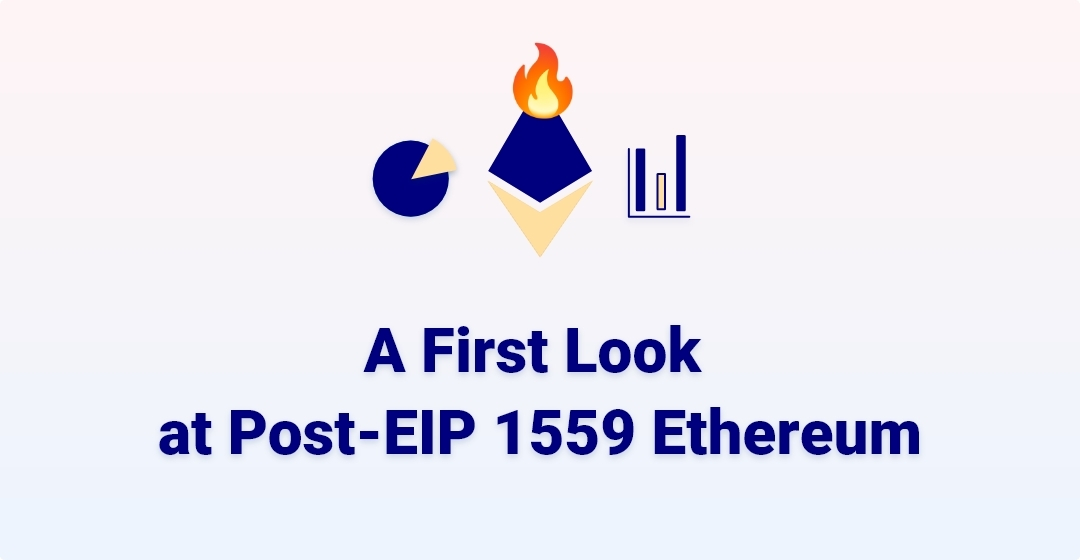 A First Look at Post-EIP 1559 Ethereum